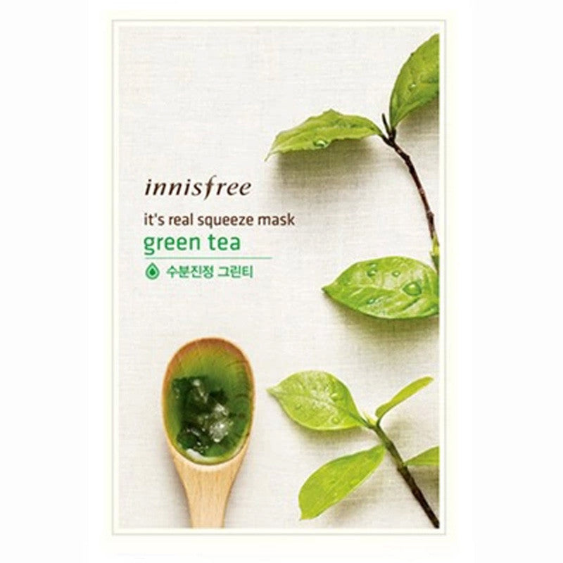 Innisfree It's Real Squeeze Mask-Green Tea 2pcs