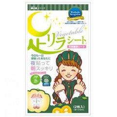 Ashi Rirashito Natural Tree Extract Feet Patch - Pumpkin (1 pair)