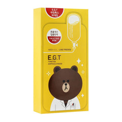 Mediheal Line Friends Ampoule Mask-EGT Timetox 10pcs