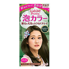 Kao Prettia Bubble Hair Color Elegant Ash