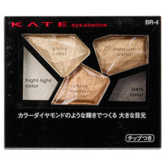 Kanebo KATE Color Shas Diamond Eye Shadow - BR-4