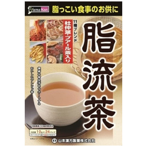 Yamamoto Chinese Medicine Manufacture Fat Style Tea 24x10g  (Box slightly damaged)