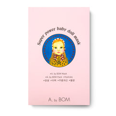 A. by BOM 3-Step Super Power Baby Doll Mask Pack 10 pcs
