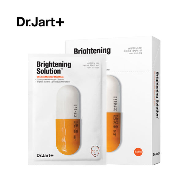 Dr.Jart+ Dermask Brightening Solution Ultra-Fine Mask 5pcs