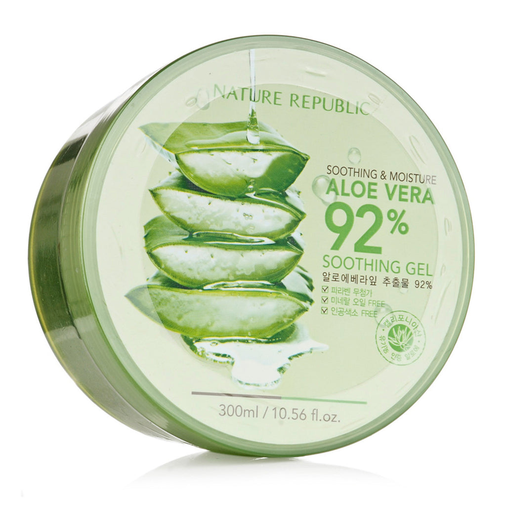 Nature Republic New Soothing Moisture Aloe Vera Gel 92% 300ml