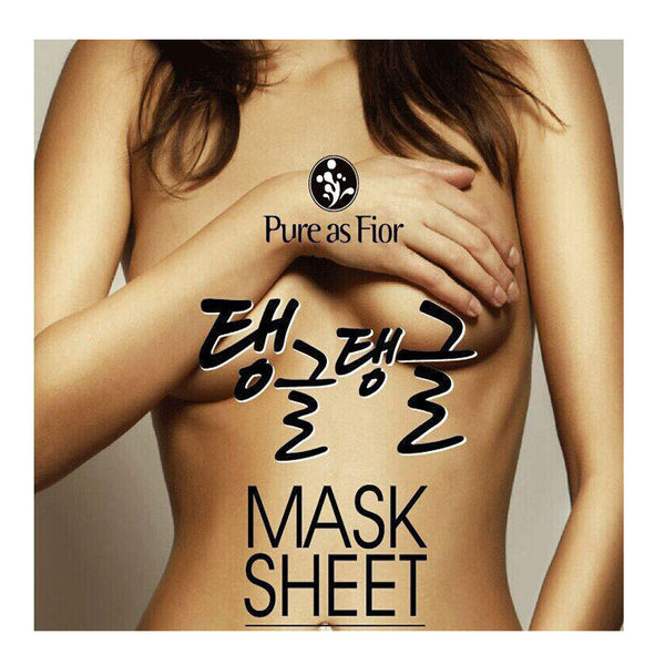 Pure As Fior Breast Volume Up Mask Sheet - 3 sheets