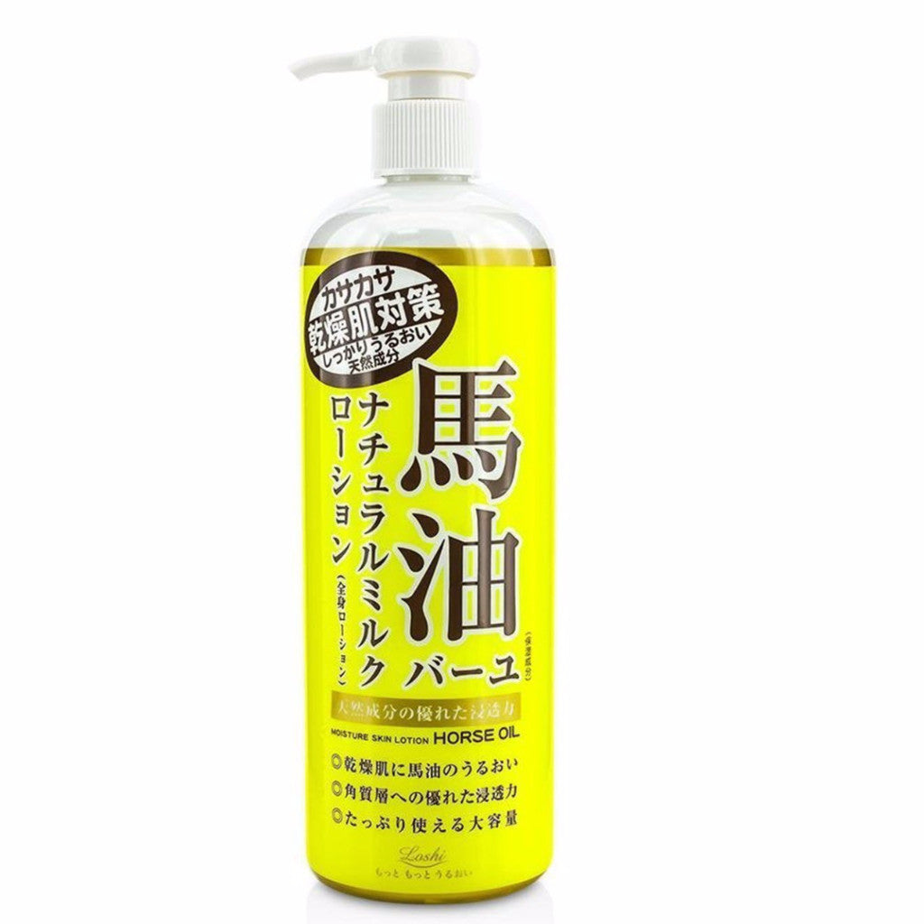 Loshi Horse Oil Moisture Skin Lotion 485ml