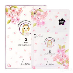 A.by BOM 2-Step Ultra Floral Leaf Mask 5pcs