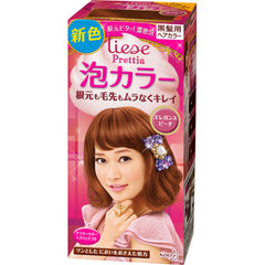 Kao Prettia Bubble Hair Color Elegance Peach