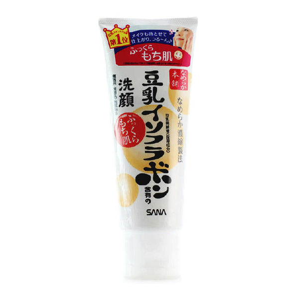 SANA Japan Nameraka Honpo Soy Isoflavone Cleansing Wash Foam 150g