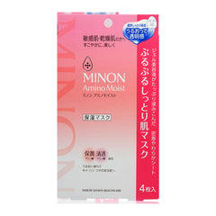 MINON Amino Moist Japan-Moisture Face Mask 4pcs