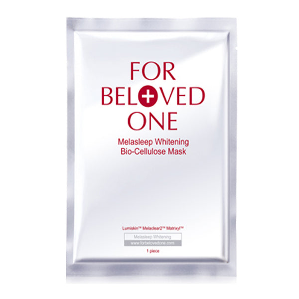 For Beloved One Melasleep Whitening Bio-Cellulose Mask 3pcs 1box