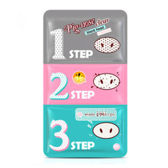 Holika Holika Pig-nose Clear Black Head 3 Steps 5pcs