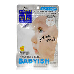 Clear Turn Babyish Vitamin C Whitening Facial Mask 7pcs