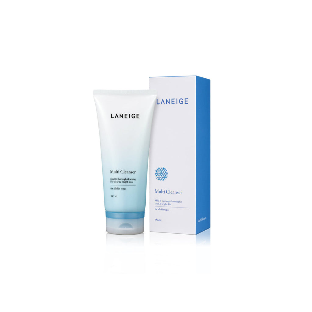 LANEIGE Multi Cleanser 180ml (4-in-1, makeup removes)