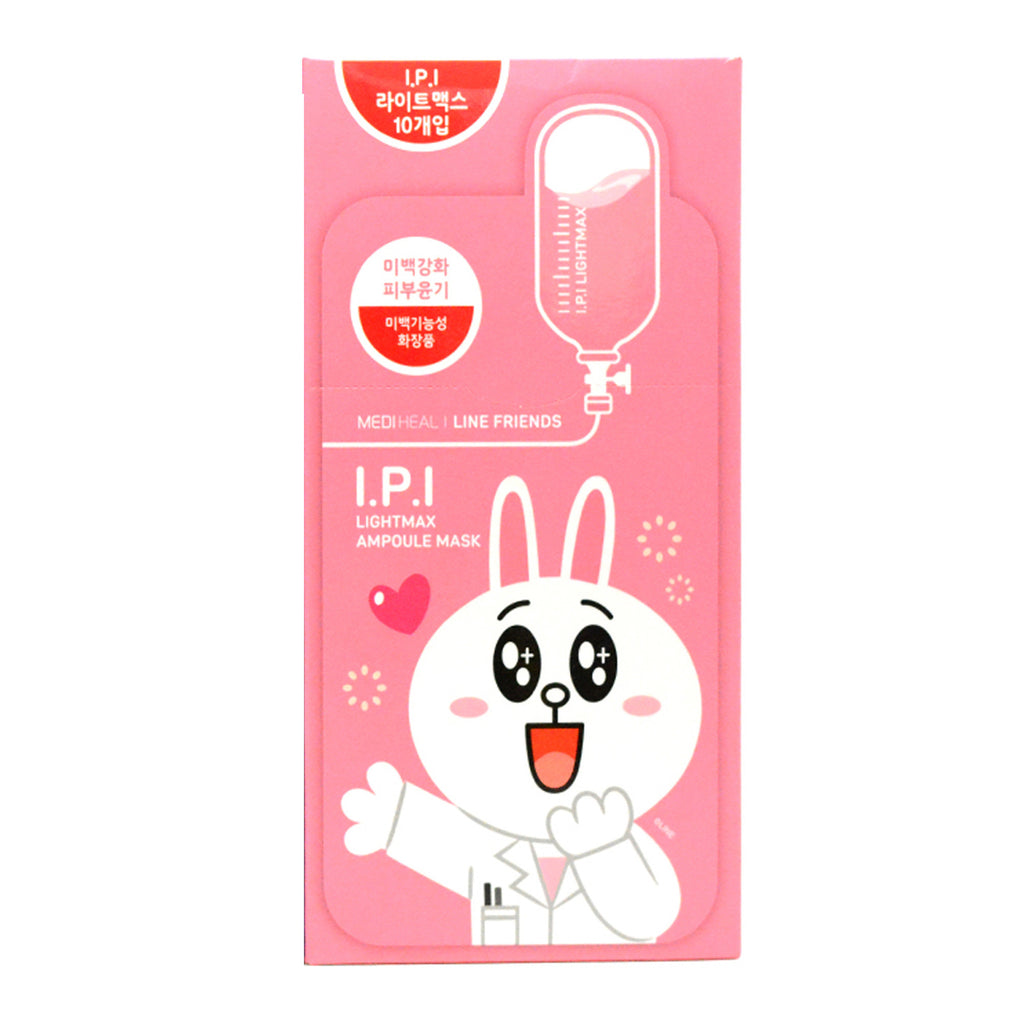 Mediheal Line Friends Ampoule Mask-IPI Lightmax 10pcs