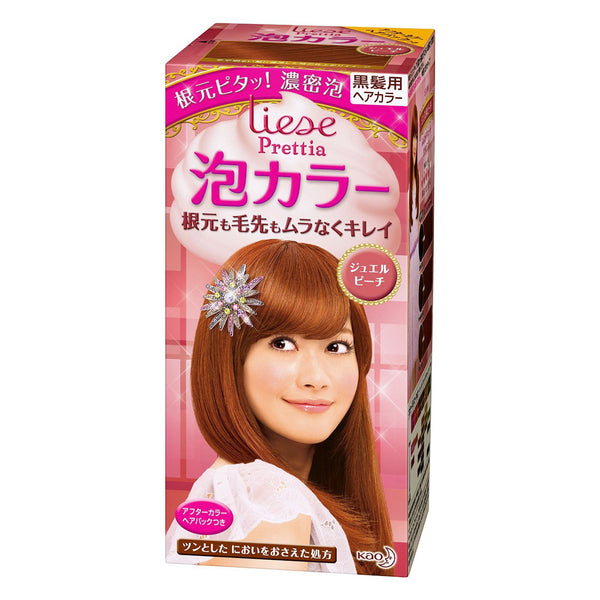 Kao Prettia Bubble Hair Color Diamond Peach