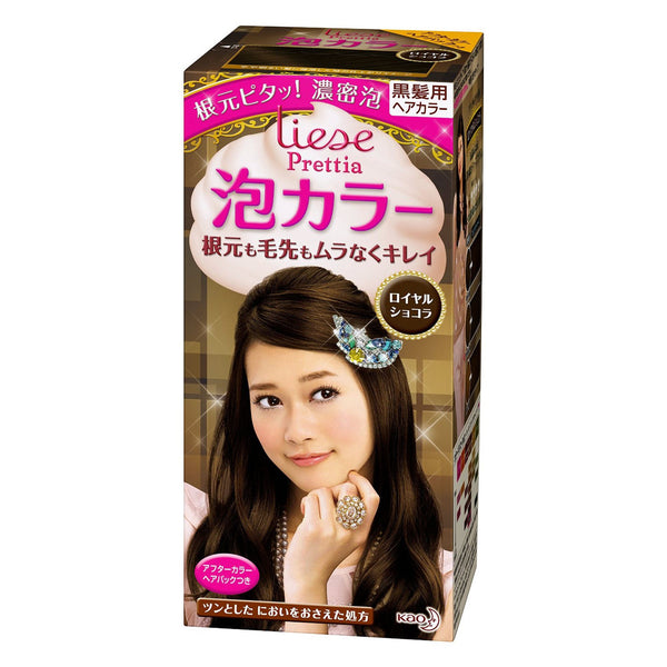 Kao Prettia Bubble Hair Color Classic Chocolate(Box slightly damaged)