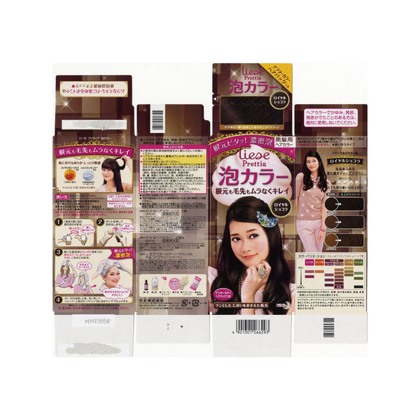 Kao Prettia Bubble Hair Color Classic Chocolate