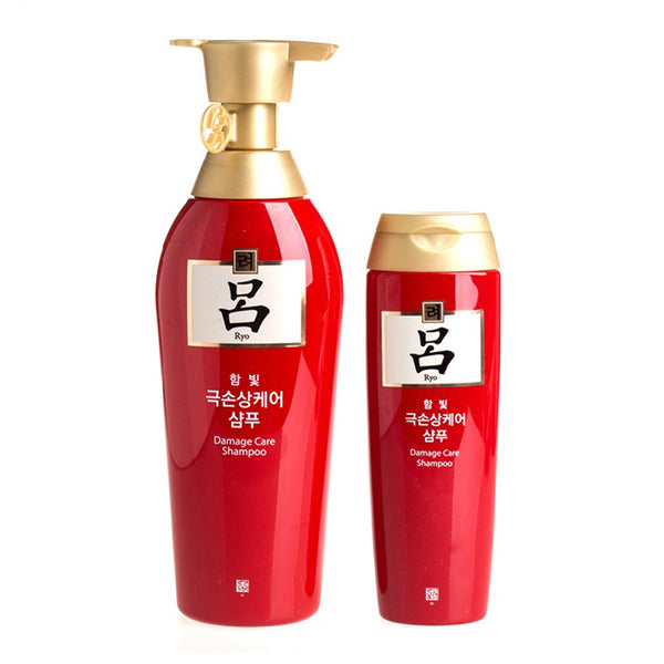 Ryo Red Shampoo Hair Dye Damage Repair 400ml+180ml
