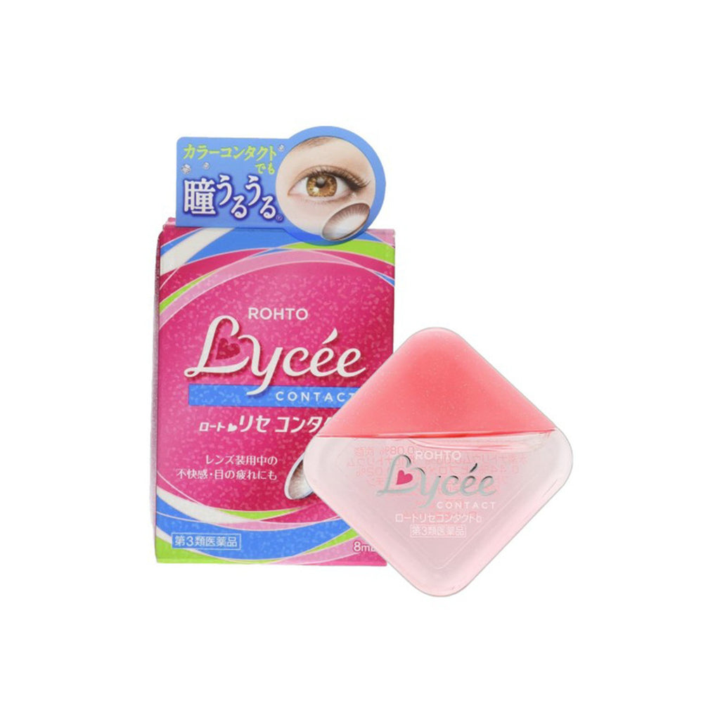 Rohto Lycee Contact Eye Drops 8ml for All Users