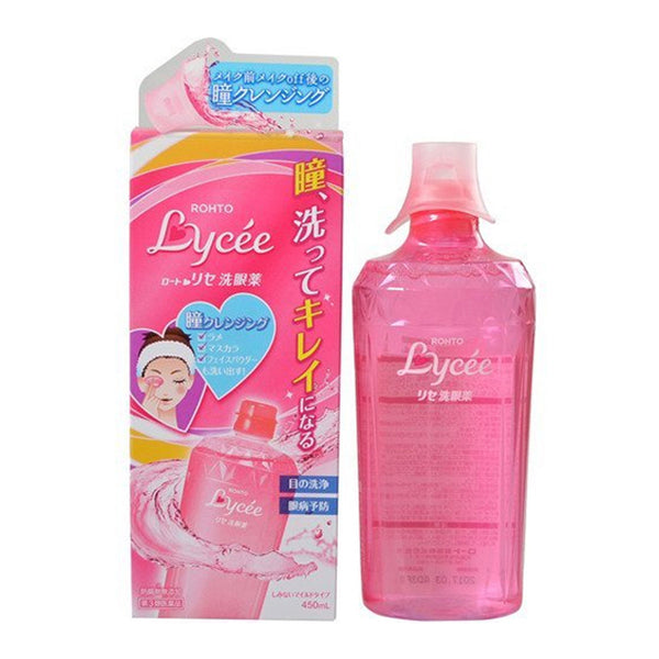 Japanese Popular Eye Wash Medicine Rohto Lycee 450ml