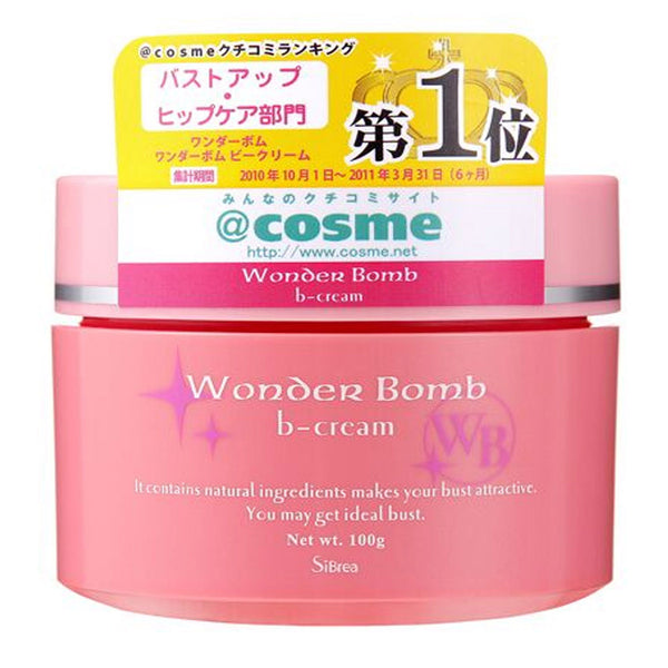 Wonder Bomb Bee Cream Japanese Boob Bust Enhancement 100g