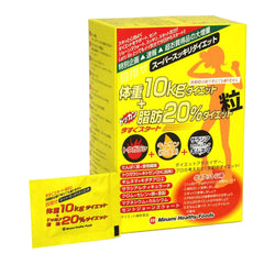 Minami Healthy Foods Dokkan Diet tablets for 10kg weight + 20% fat 75bags