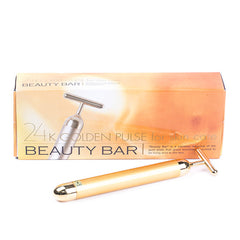 Beauty Bar 24k Golden Pulse Facial Massager