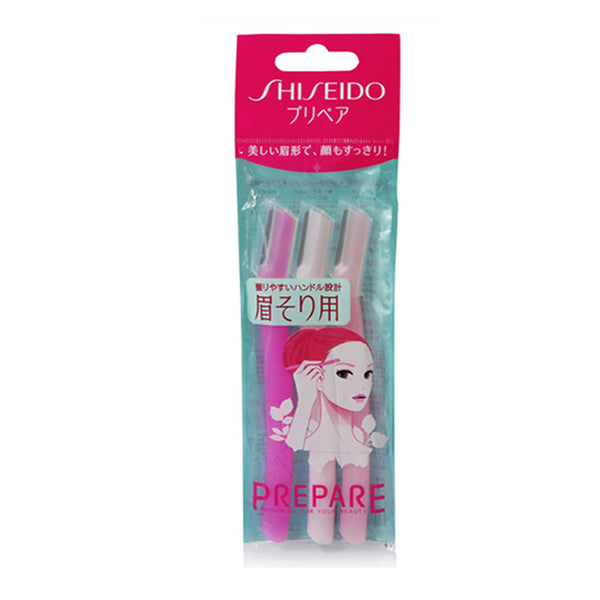SHISEIDO Prepare Razor For Eyebrow 3pcs
