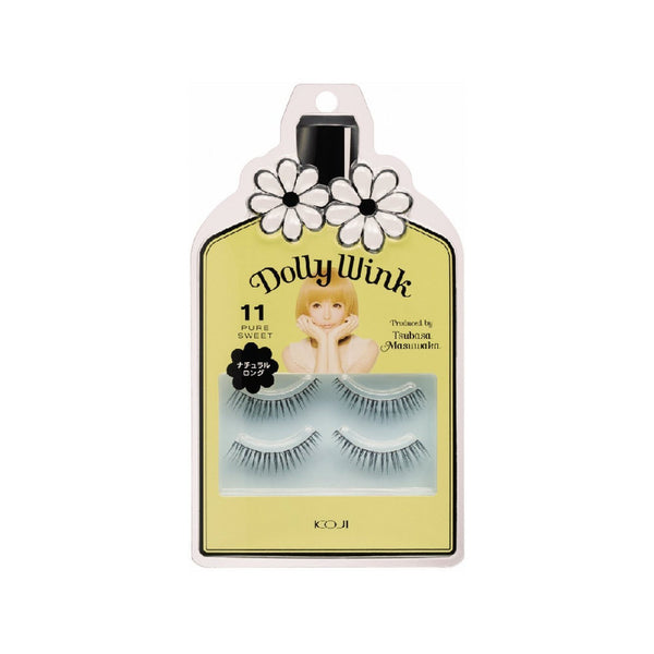 KOJI Dolly Wink False Eyelashes No.11 Pure Sweet 2 pairs
