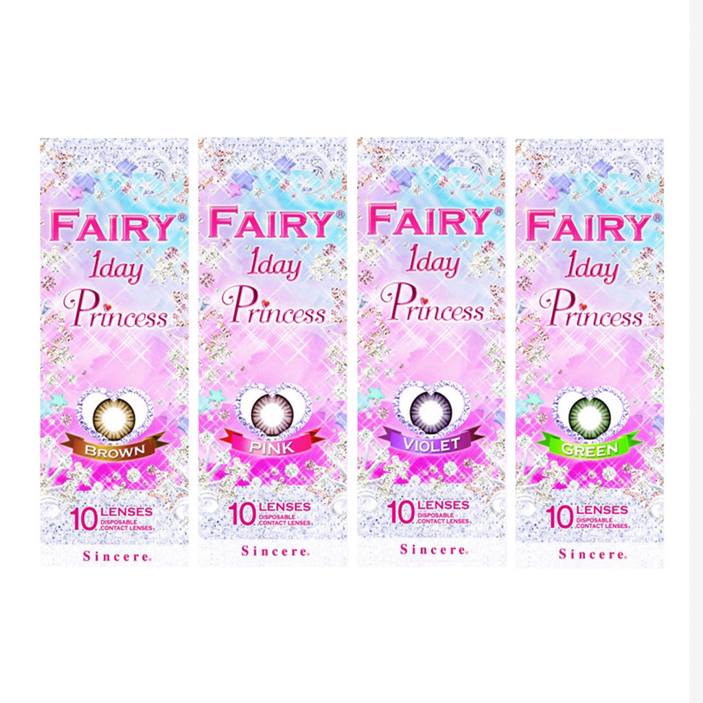 Fairy 1 Day Colored Contact Lenses 10pcs