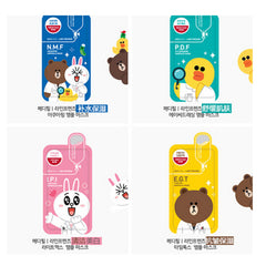 Mediheal Line Friends Ampoule Mask Sheet Pack 4pcs