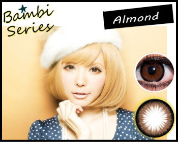 Bambi Series One Day Colour Contact lenses Almond 10pcs