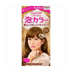 Kao Prettia Bubble Hair Color Glossy Brown
