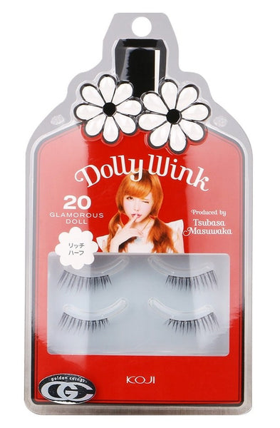 KOJI Dolly Wink False Eyelashes No.20 Glamorous Doll 2 pairs