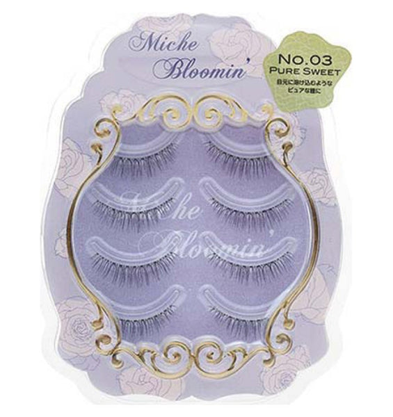 Miche Bloom Japan False Eyelash 4pairs