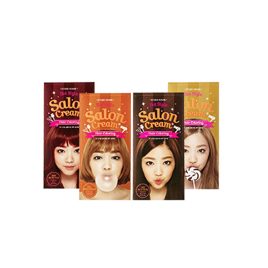 Etude House Salon Cream Hair Coloring - Coco Mocha Brown