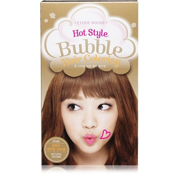 Etude House Hot Style Bubble Hair Coloring - BR08 Natural Brown