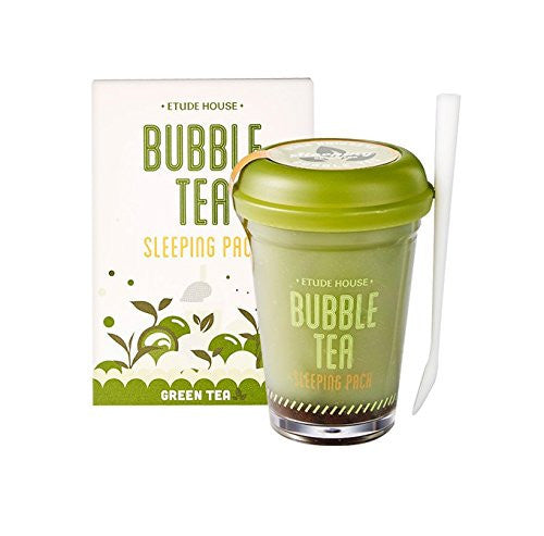 Etude House Bubble Tea Sleeping Pack - Green Tea