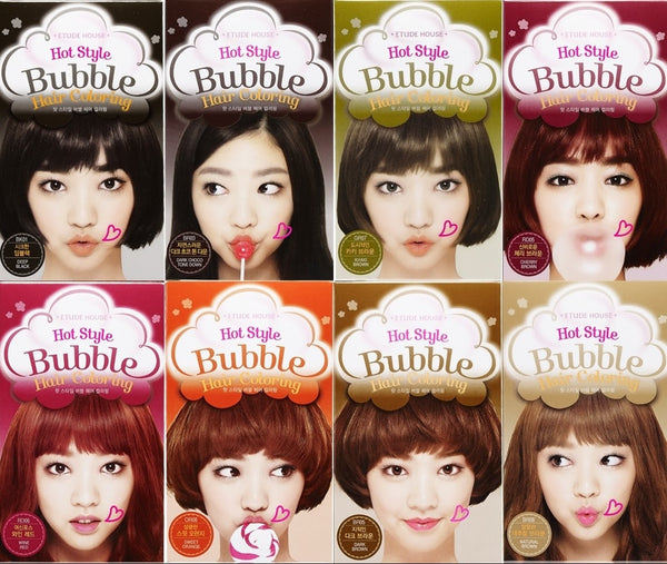 Etude House Hot Style Bubble Hair Coloring - GR07 Khaki Brown