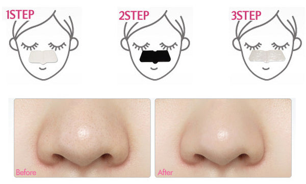Etude House Petite Beauty Blackhead 3-step Kit