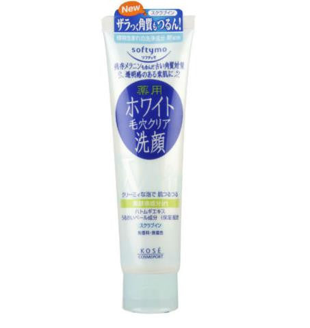 Kose Medicated White Washing Foam Softymo Cleanser 150g