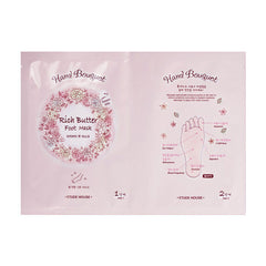 Etude House Hand Bouquet Rich Butter Foots Mask 1 pair
