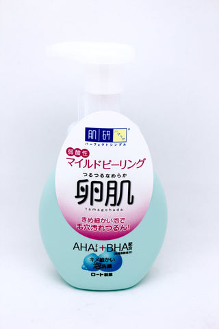 Rohto-Boiled Egg Skin Mild Peeling Bubble Face Cleansing 160ml