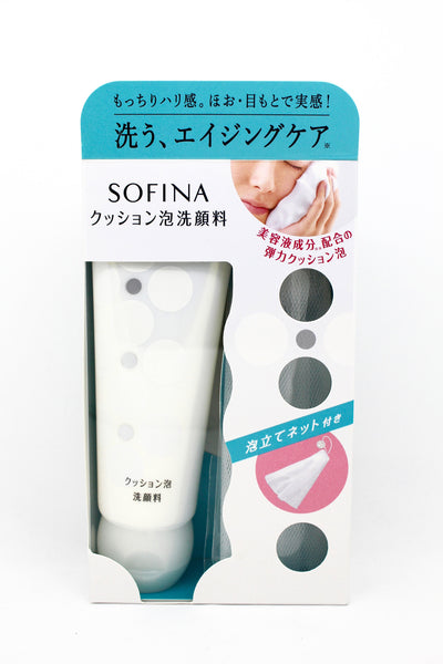 SOFINA Enriched Foam Cleanser Face Washes 120g