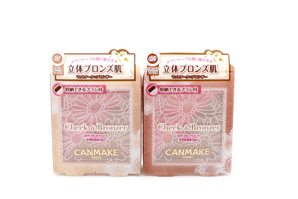 Canmake Cheek and Bronzer
