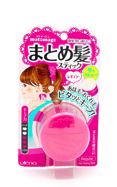Utena Matomage Hair Styling Stick - Regular (Pink)