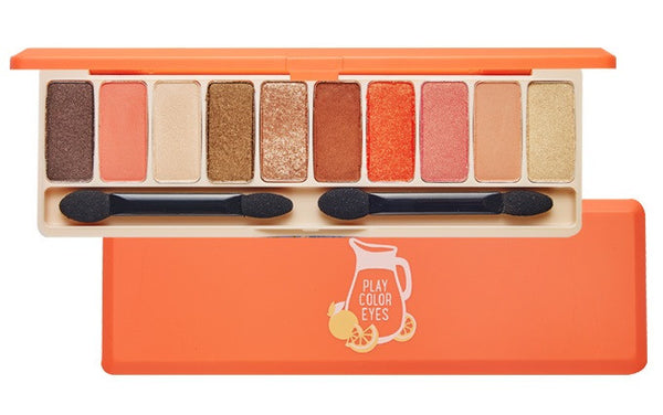 Etude House Play Color Eyes Juice Bar 10 Color - Orange
