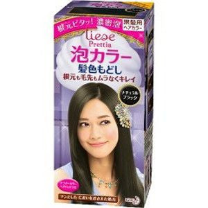 Kao Prettia Bubble Hair Color Natural Black